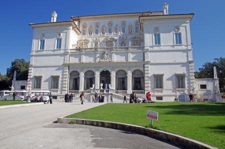 ROME, ITALY - : Villa Borghese (Galleria Borghese)