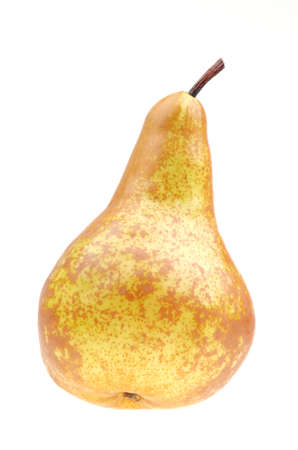 Yellow pear isolated on a white background Stock Photo - 19938236