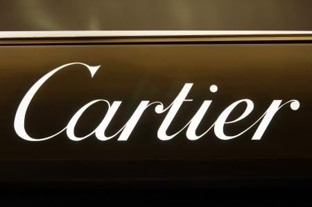 ROME, ITALY - MARCH 08  Cartier luxury brand on Via del Condotti in Rome on March 08, 2011 in Rome, Italy