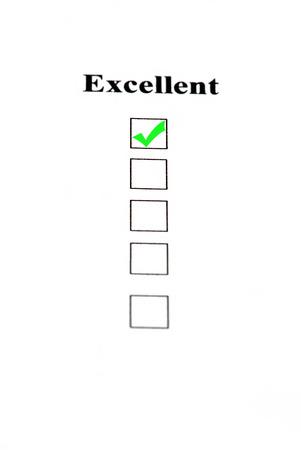 questionaire: Compruebe en excelentes, muy buenos servicios