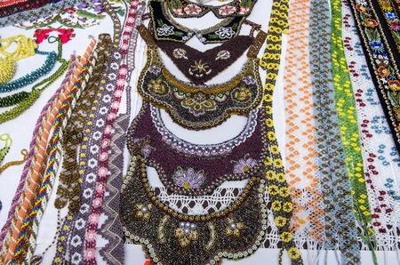 Traditional souvenir shop  neck accesories for sale