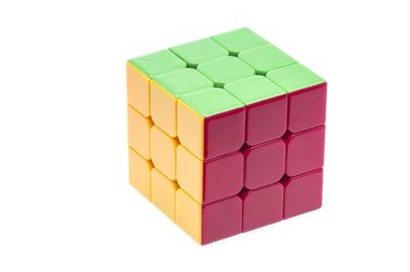 rubik: Close up image of a Rubik
