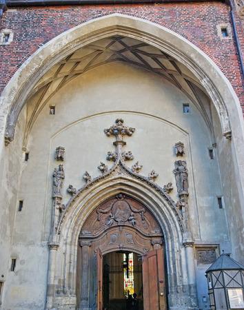 frauenkirche: Die Frauenkirche in M�nchen, Deutschland.