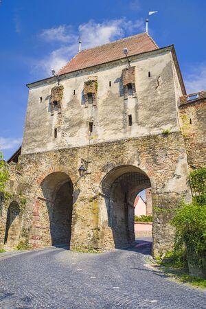 Unesco Heritage in Romania, Sighisoara citadel, Historic Tower Gate