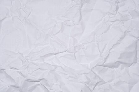 White crumpled paper as texture, close image Reklamní fotografie