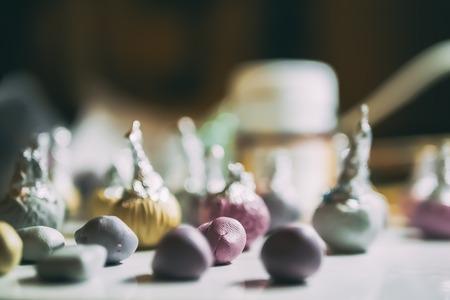 Polymer clay craft Foto de archivo
