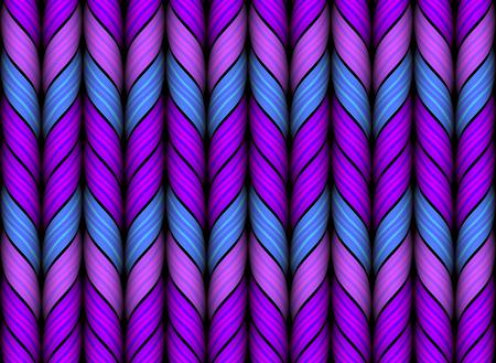 woolen: Knitted woolen fabric pattern. Gradient Mesh. EPS10 Illustration