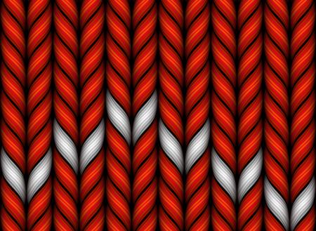 Modello di maglia tessuto di lana. Gradient Mesh. EPS10 Archivio Fotografico - 54342360