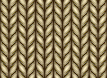 Knitted woolen fabric pattern. Gradient Mesh. EPS10 Illustration