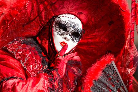 Maschera di carnevale di Venezia Archivio Fotografico - 35559651