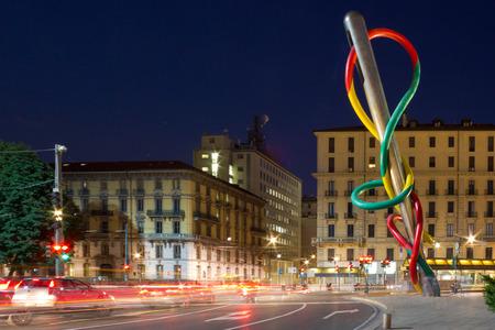 milánó: Tű a Piazza Cadorna Milánóban