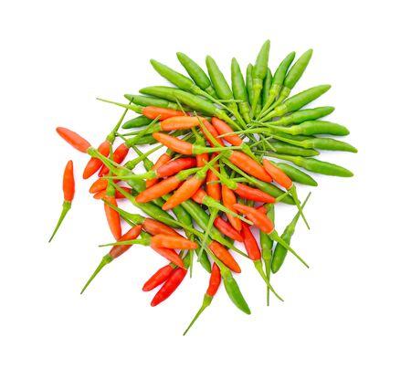chili pepper on white background Stock Photo