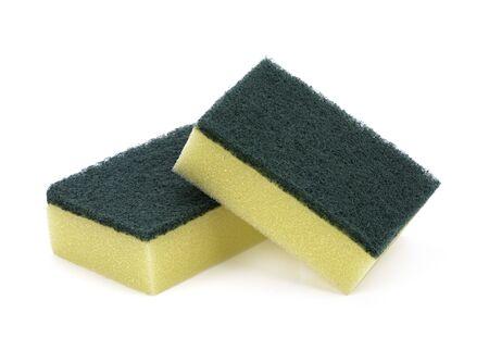 sponge isolated on white background