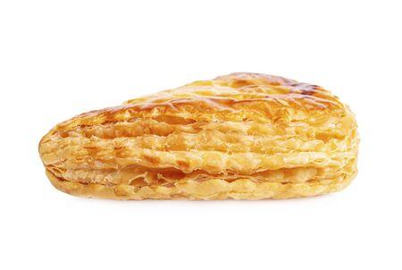 Fruit pie isolated on white background Reklamní fotografie