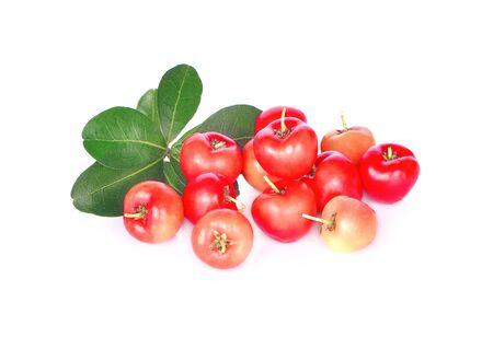 Cherry isolated on white background Reklamní fotografie