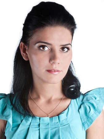 Girl doing makeup close up Stock Photo - 11698135