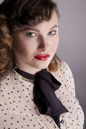 Portrait of a black tie Stock Photo - 12575599