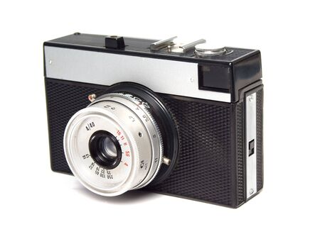 lomography: Vintage russian lomography camera isolated over white