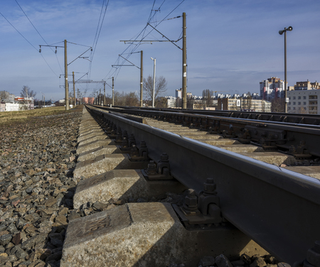 traction: Electrified railway for trains with electric traction