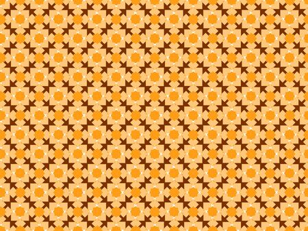 Seamless colored pattern of geometric shapes of different shapes