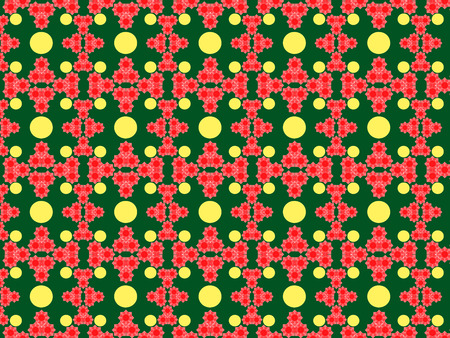 Seamless colored pattern of geometric and arbitrary shapes of different shapes Stok Fotoğraf - 97373584