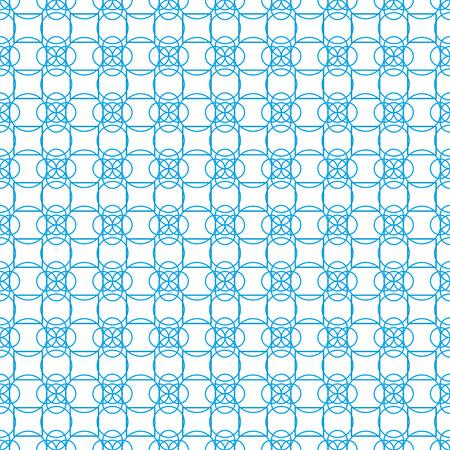 Arbitrary geometric shapes on seamless pattern on white background Stok Fotoğraf - 97377801