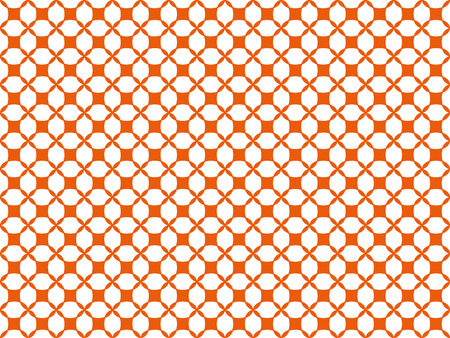 Seamless pattern from shapes of any shape on a white background