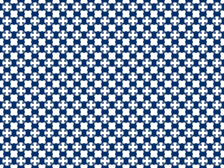 Arbitrary colored geometric figures on a seamless pattern