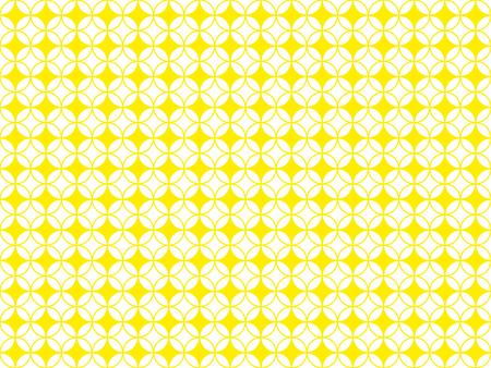 Arbitrary geometric shapes on seamless pattern on white background Stok Fotoğraf - 97377841