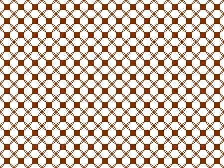 Seamless pattern from shapes of any shape on a white background Stok Fotoğraf - 97377845