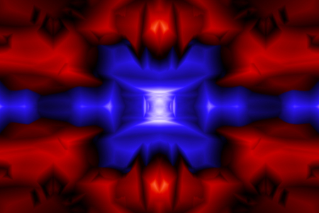 Abstract pattern in red and blue color
