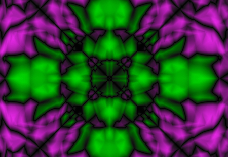Abstract pattern in purple and green color Stok Fotoğraf