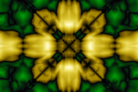 Abstract pattern in yellow and green color Stok Fotoğraf - 99093416