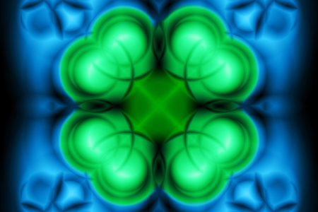 Abstract pattern in blue and green tones Stok Fotoğraf