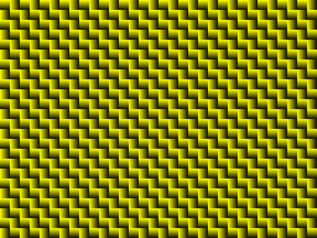 Abstract geometric pattern in a gradient of yellow and dark colors Ilustração