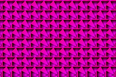 Symmetrical abstract pattern in purple and pink