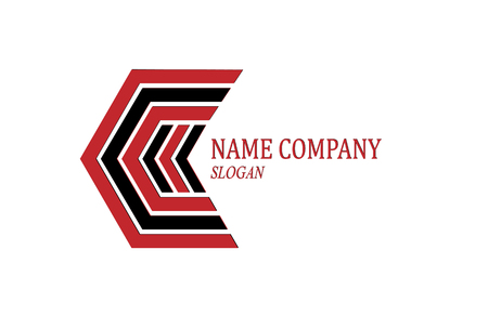 Abstract image to create a corporate company logo