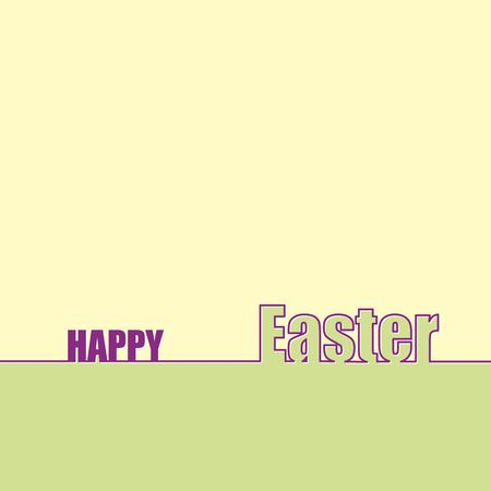 Congratulations on the holiday Easter, background for design with the words happy Easter