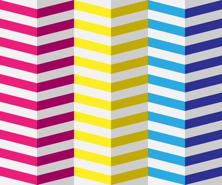 Abstract colorful geometric background, the simulation volume Ilustração