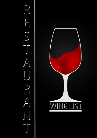 Logo for the wine list of the bar and restaurant
