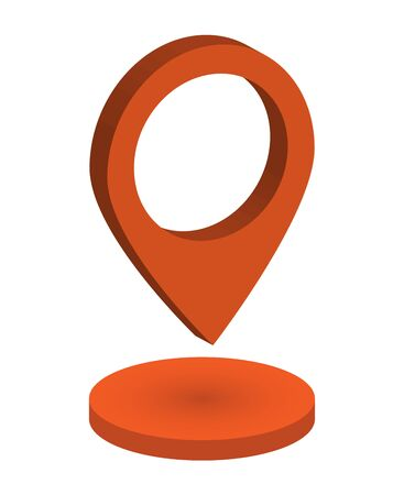 Volume the pointer to the map. The icon for the map to specify location.