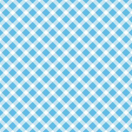 seamless diagonal pattern of squares in shades of blue. Ideal for textiles, packaging, paper printing, simple backgrounds and texture. Ilustração