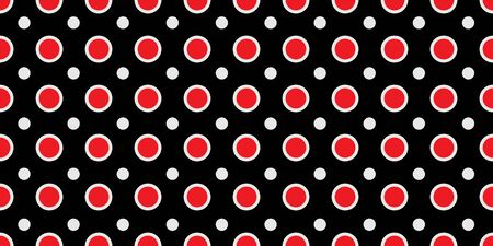 Seamless geometric pattern. Red and black colors are Modern casual colors. Ideal for textiles, packaging, paper printing, simple backgrounds and texture. Иллюстрация