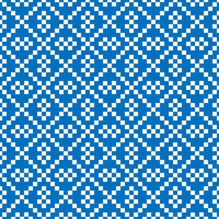 Abstract seamless geometric background. Pattern of small squares. A practical solution for textiles, packaging and Wallpaper.