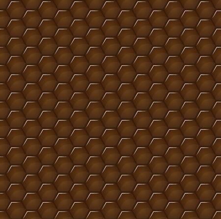 Seamless background of geometric volumetric hexagons, honeycomb for packaging design, printing and texture for packaging design, paper printing, simple backgrounds and texture, posters and banners and Wallpaper. Standard-Bild - 134417822