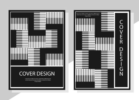 Editable design for the cover, A4 format. Geometric abstract background. for the design of the cover, screen saver, for applications and websites, for business cards, posters and other printed products.