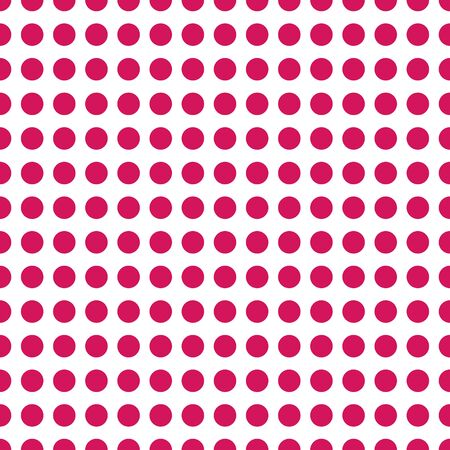 Vector abstract seamless stock color background with red circles on white background for design, packaging, paper printing, simple backgrounds and texture.