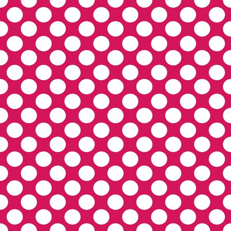 Vector abstract seamless stock color background with circles on red background for design, packaging, paper printing, simple backgrounds and texture.