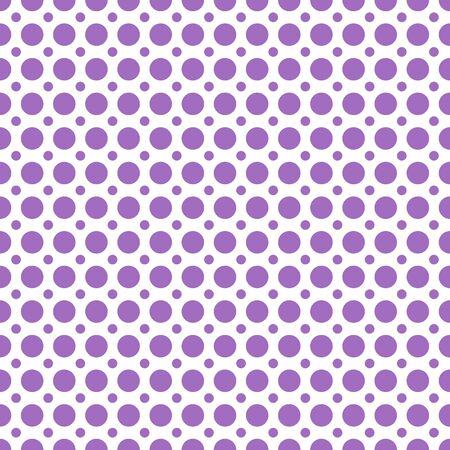 Vector abstract seamless stock color background with circles of different diameters for design, packaging, paper printing, simple backgrounds and texture.