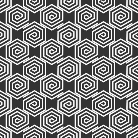 Seamless vector pattern. Geometric abstract background, fine lines. Stock monochrome texture. Çizim